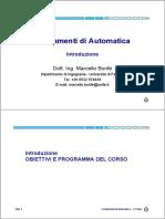 Fondamenti di Automatica