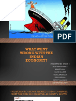 What Went Wrong With the Indian Economy?
