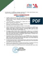 Odluka o Stalnim Revijama Mini Rukometa 2012-13