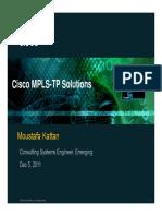 CISCO MPLS-TP Solutions.pdf