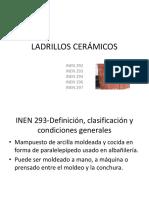 LADRILLOS CERÁMICOS