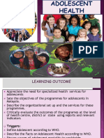 Adolescent Health Updated