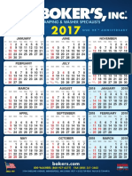 2017 Bokers Calendar