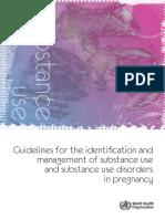 consumo sustancias embarazo