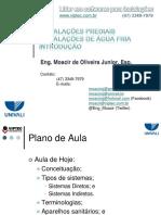 1703Modulo 1 - Agua Fria - Introducao V05