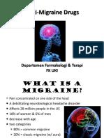 Anti-Migraine Drugs