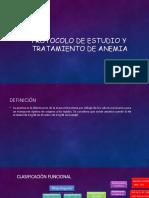 Protocolo de Anemia