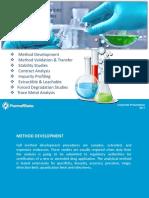 Analytical Services- Pharmaffiliates