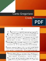Canto Gregoriano-CREDO II
