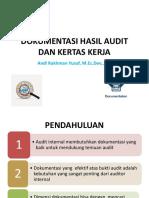 Bab 16 Dokumentasi Hasil Audit Dan Kertas Kerja