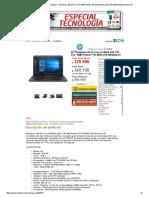 PC Factory • Tu Centro Tecnológico • Notebook..250.G5.Core.i3-5005U.8GB.1TB.156.AMD.radeon.R5.M430.2GB.windows