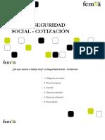 m6 - La Seguridad Social - Cotizacion