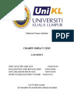 Charpy Impact Test Assigm