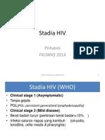 Stadia HIV