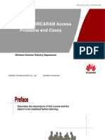 GSM&UMTS Training Course 10-Analysis of RRC&RAB Access Problems and Cases 20111130-A-V1.0