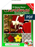 Free Crochet Designs 10 Home Decor Christmas Crochet Patterns.pdf