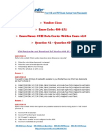 400-151 Exam Dumps With PDF and VCE Download (41-60)