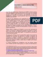 Lesbianas fortaleciendo la CEDAW -desde el Perú