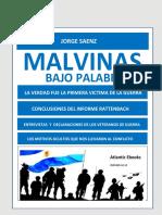 Libro Malvinas Bajo Palabra 11050 1