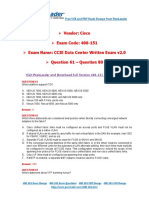 400-151 Exam Dumps With PDF and VCE Download (61-80)