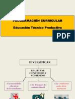 Diversificacion Curricular Cetpro
