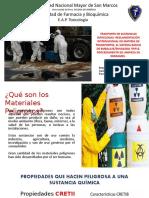Transporte de Sustancias Infecciosas Seminario 7