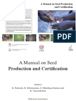 a Manual on Seed Production and Certification