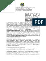 Modelo de Contrato - Servicos de Limpeza e Conservacao