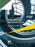 Ernst & Young Oy Läpinäkyvyyskertomus 2014