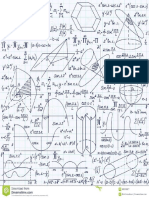 Mathematical Vector Seamless Pattern Geometrical
