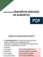 ADMINISTRACIÓN DE SERVICIOS DE ALIMENTOS. generalidades. tipos de menu.pptx