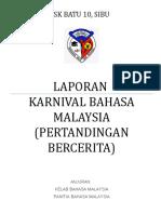 Laporan Aktiviti Karnival Bahasa Malaysia 2015
