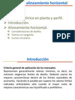 Clases Caminos I - 04 Pp Planta Alineamientos