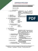 Modelo Informe Liquidacion de Obra Supervicion