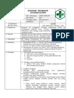 9.2.2.4. Sop Standar Prosedur Layanan Klinis