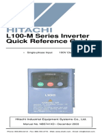Hitachi L100M AC Drives