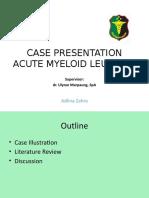 Case Presentation Adlin