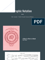 Graphic Notation Presentation for General Music