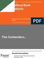Method Book Analysis - Band