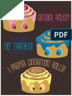 Gender Rolls Graphic Design