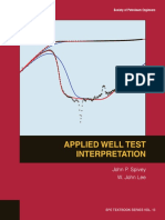 Applied Well Test Interpretation - John Lee