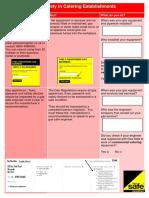 Gas Safety Information Leaflet