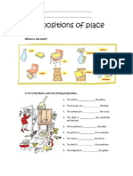 Prepositions of Place 2