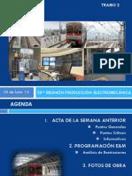 Resultado de la Reunión de Producción electromecánica N° 23