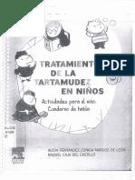 Tratamiento de La Tartamudez en Ninos PDF