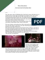 Music Video analysis 3