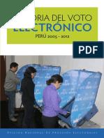 DT-31 Historia Del Voto Electronico de Peru