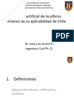 Jose Luis Arumi Recarga de Acuiferos