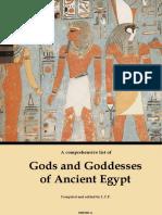 Divinidades de Egipto