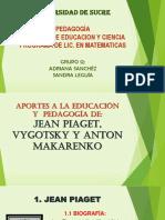 Piaget%2c Vygotsky y Anton Makareno